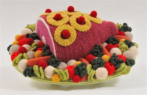 crochet cuisine feast your on this glorious crocheted food gastro