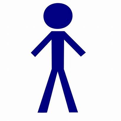 Stick Male Clip Icon Tall Onlinelabels