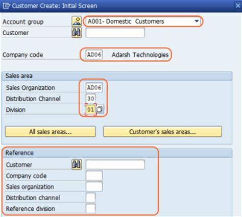 Create Customer master data by XD01 - SAP Training Tutorials