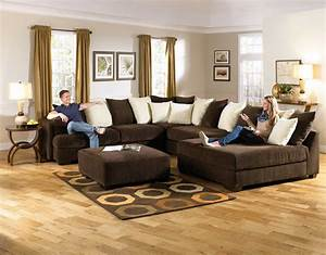 jackson axis large sectional sofa set chocolate 4429 62 With sectional sofa for large room