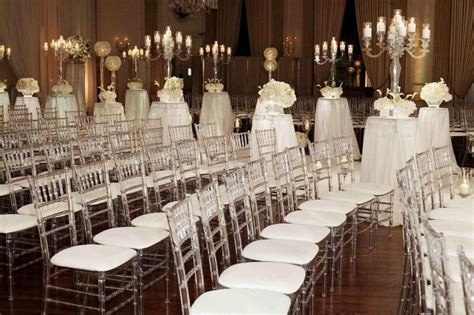 ceremony d 233 cor photos lucite ceremony chairs inside