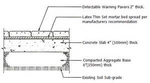 truncated domes 187 tile tech pavers detectable warning