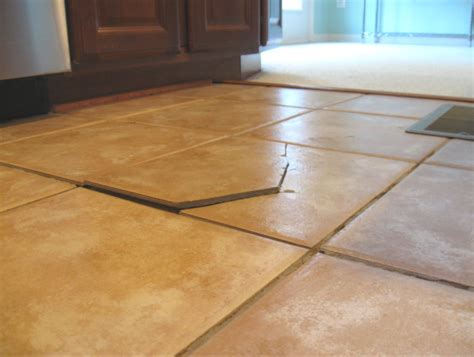 7 causes of cracked ceramic tile floor