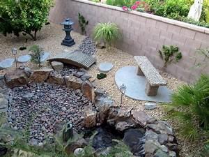 Rock Garden Ideas Using Nature Exterior Accent - Amaza Design