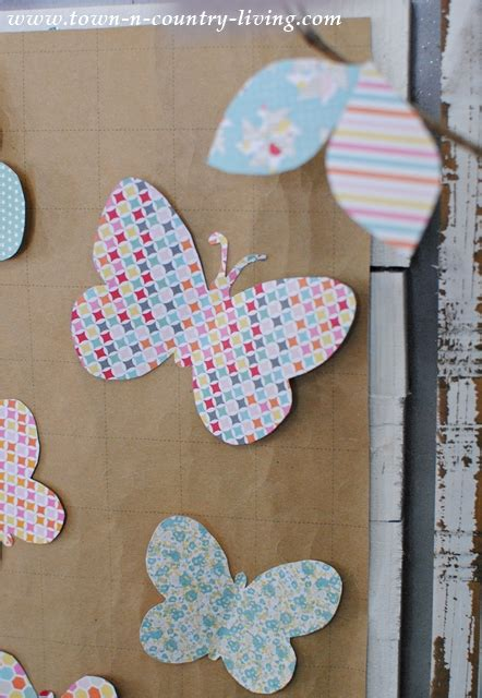 Foil cardstock | paper craft chrissiebcrafts 5 out of 5 stars (45) $ 5.00. Paper Butterfly Wall Art - Town & Country Living
