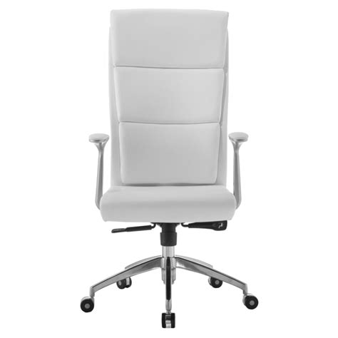 white executive desk chair harvard white modern executive office chair eurway