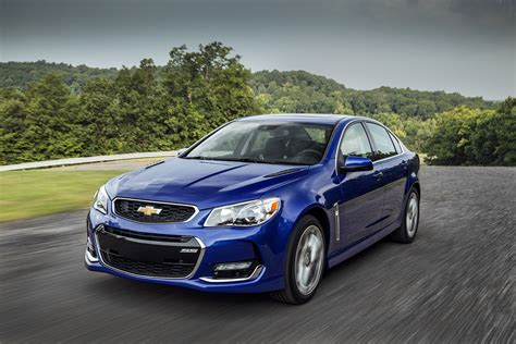 2016 Chevrolet Ss Sedan Revealed