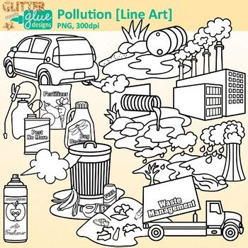 pollution clip art earth conservation  land graphics