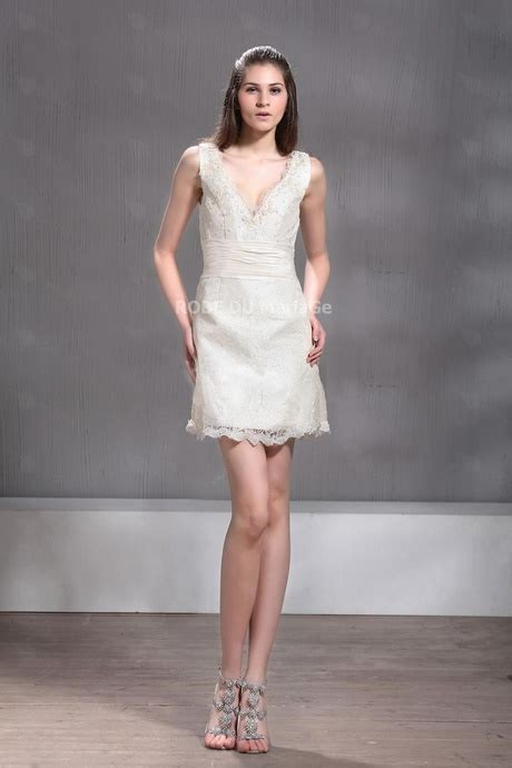 robe mariã e mairie robe de mariée courte mariage civil
