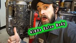 4l80e Rebuild    Valve Body Removal And Electrical