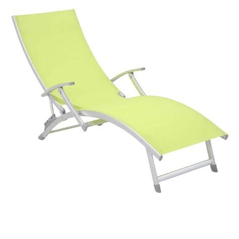 chaise longue de jardin babou