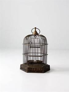 antique brass birdcage decorative bird cage