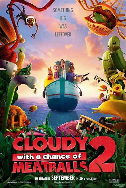 Animation Sony Poster Posters Cloudy Movies 2d