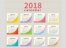 Ilustración de calendario imprimible gratis Descargue