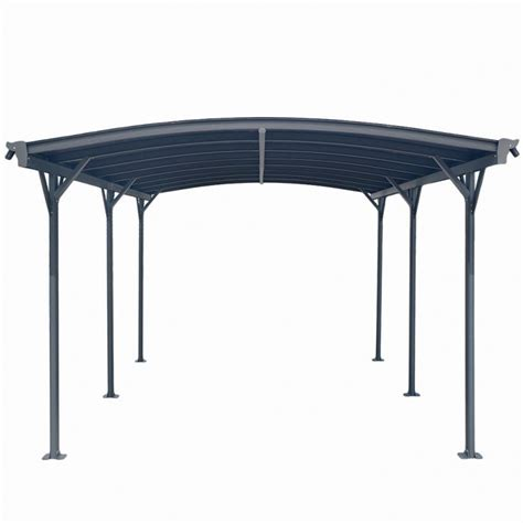 tettoia alluminio carport tettoia per automobili in alluminio cm 505x300cm