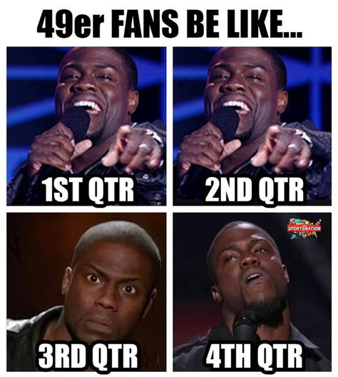 Kevin Hart Cowboys Meme - 19 best images about 49ers suck on pinterest football memes football and colin kaepernick