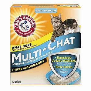 Litiere Chat Sans Odeur : liti re agglom rante arm hammer mc multi chat sans ~ Melissatoandfro.com Idées de Décoration