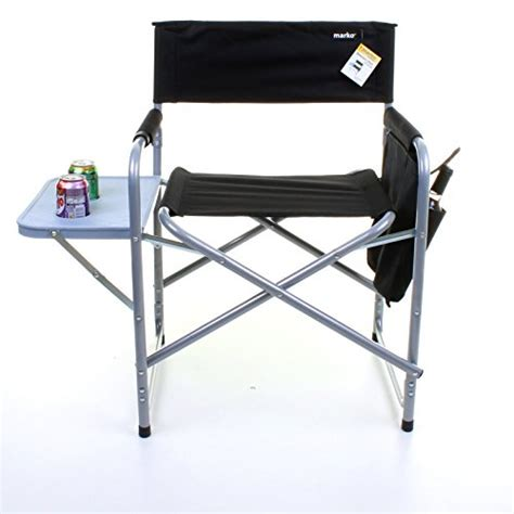 marko outdoor folding directors chair lightweight portable fish cing outdoor seat side table