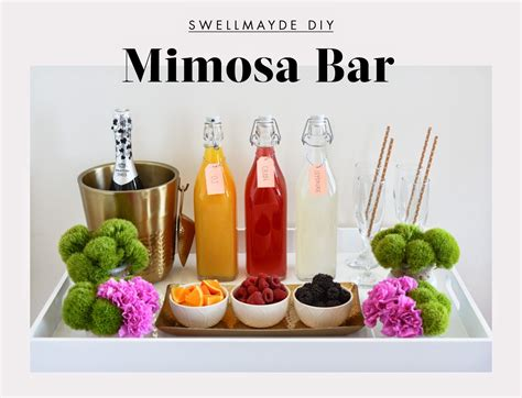 Diy Mimosa Bar And Spring Entertaining Tip With @target