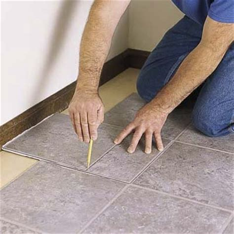 can you lay tile linoleum scribe tiles to fit along walls how to lay a vinyl tile
