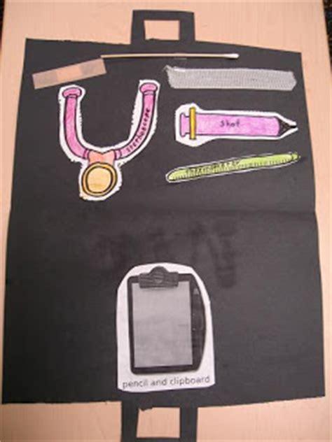 doctor bag template printable  preschool  homeschool