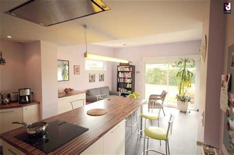 d馗o cuisine ouverte cuisine ouverte avec îlot central iznodesign photo n 83