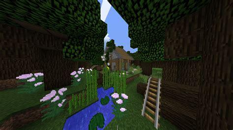 Haus Im Wald Bauen by ᐅ Kleine Holzf 228 Ller H 252 Tte In Einem Wald In Minecraft Bauen
