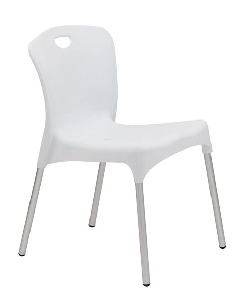 chaises plastique chaise coque blanche en plastique albi