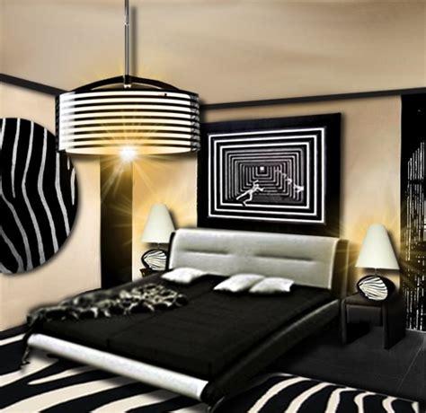 décoration chambre zebre