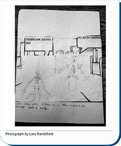 Jes U00fas U0026 39 S Hand Drawn Monsters  Inserted Into A Comic Creator Frame Using