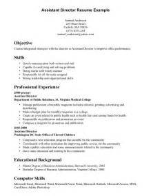 Example Resume Skills And Abilities Resume Skills And Abilities