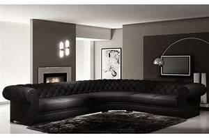 Canapé Droit Xxl : canap mobilier priv ~ Teatrodelosmanantiales.com Idées de Décoration