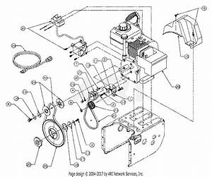 Mtd 31ae623d190 Snow Boss 550  1998  Parts Diagram For