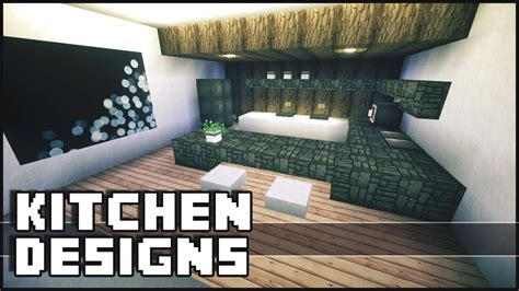 minecraft kitchen designs ideas minecraft