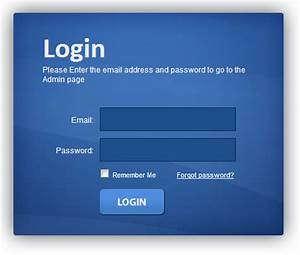 How to create a login form in php projectslankacom for How to create template in php