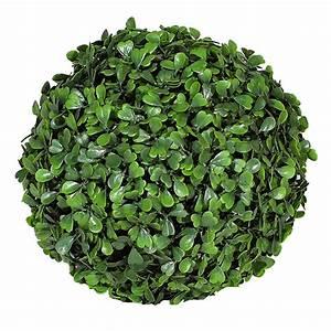 Boule De Buis : boule de buis artificielle 30 cm vert fonc maison fut e ~ Melissatoandfro.com Idées de Décoration
