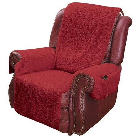 Recliner Chair Walmart by Recliner Chair Cover Protector With Pockets For Remotes