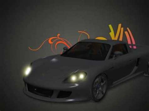 voiture de sport carte d 39 anniversaire voiture de sport youtube