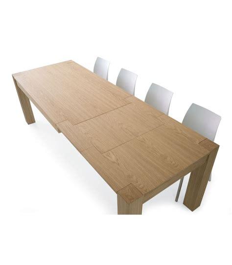 tavoli rovere naturale tavolo allungabile in legno rovere naturale spazzolato