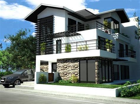 Modern Style Homes by House Taguig Modern Style Mitula Homes