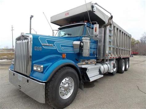 used kenworth w900 dump trucks sale kenworth w900 for sale grand rapids michigan price
