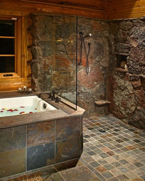 Pics Of Rustic Bathrooms by Another Shower Def Want A Diff Wall For The Shower