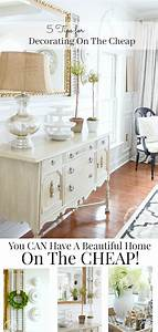 5, Tips, For, Decorating, Cheaply