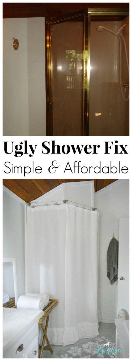 shower ideas for bathroom how to makeover a bathroom without remodeling diy shower