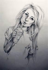 Cute Drawings of Girls Hair