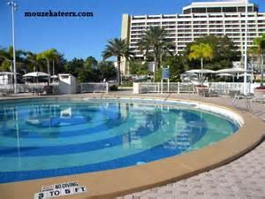 Disney Contemporary Resort Pool
