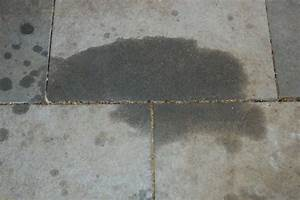 how to remove oil grease from cement or pavers the art With remove grease from concrete floor