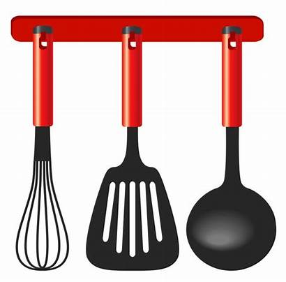 Utensils Kitchen Clipart Clip Cooking Cliparts Cookware
