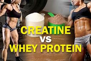 Creatine Vs Whey Protein  Which One Should You Buy