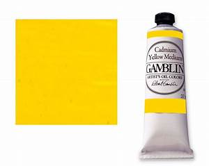 Save On Discount Gamblin Artists' Oil Paint, Cadmium ...